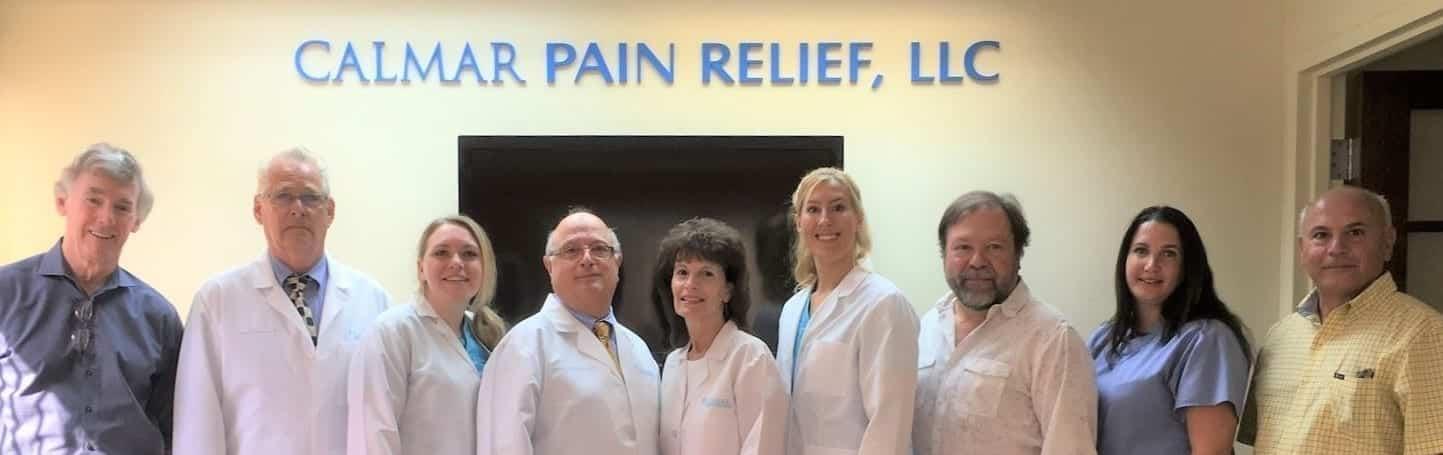 calmar pain relief team picture